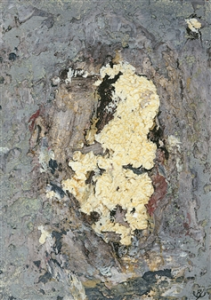 John Kingerlee - Head IV Oil on Board, Paintings