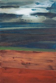 Israel Feldmann - Revelation Pigment on Canvas, Paintings