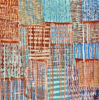 Sierra Barnes - Comfort Zone Acrylic on Canvas, Paintings