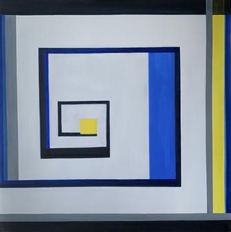 Mariela Soldano - Quarantine Acrylic on Canvas, Paintings