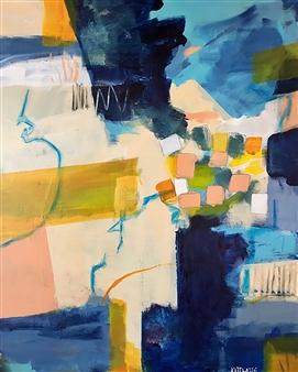 Paul Kittlaus - Untitled #203 Acrylic on Canvas, Paintings
