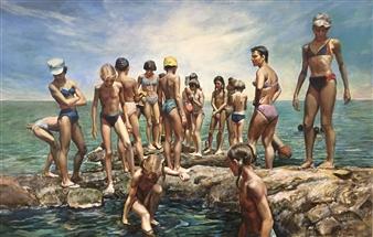 Alexandr Mischan - Black Sea Oil on Canvas, Paintings