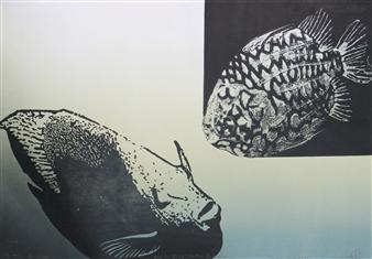 Juan Salazar - From the Series Contracorriente 16 Collograph, Prints