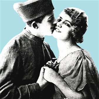 Wallace - The Kiss (A) Photographic Print on Fine Art Paper, Prints