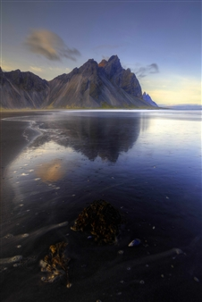 Alexander Toto - Vestrahorn Iceland 64.2497 N 15.2020 W Photograph on Hahnemühle Paper, Photography