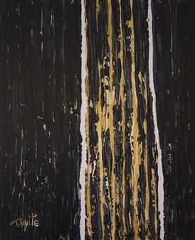 Tanja Skytte - Waterfall #3 Acrylic on Canvas, Paintings
