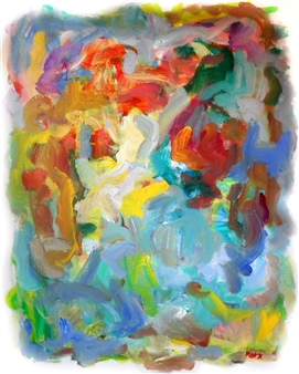 Susan Marx - Spring Acrylic on Canvas, Paintings