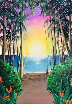 Miki Hatano - Omen Acrylic on Canvas, Paintings