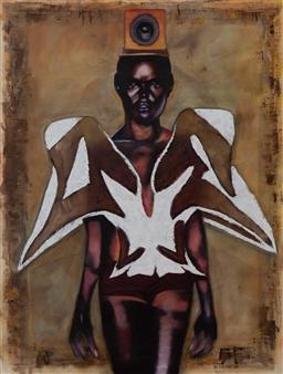 Britt-Marie Tidemand - Wow Oil on Canvas, Paintings