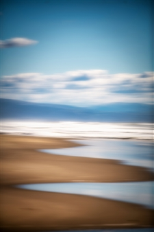 Renzo Sanchez-Silva - Sand Reflections Digital C-Print on Aluminum, Photography