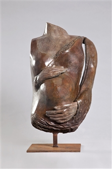 Anita Birkenfeld - Pregnancy Bronze, Sculpture