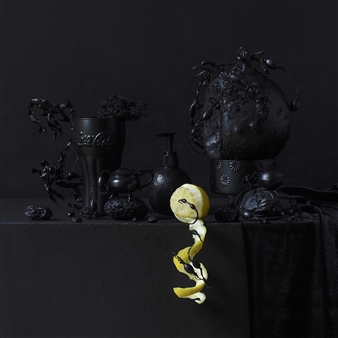 Art Golacki - Still Life in Black with Lemon / second variation Archival Pigment Print, Photography