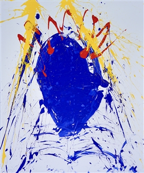 G Corona - Eternal Acrylic on Canvas, Paintings