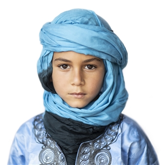 Safaa Kagan - Moroccan Boy Archival Pigment Print, Photography