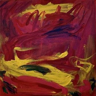 Laura Pretto Vargas - Disturbo Acrylic on Canvas, Paintings