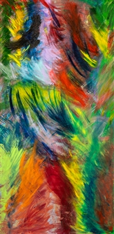 Jodi DeCrenza - Corvus Oil on Canvas, Paintings