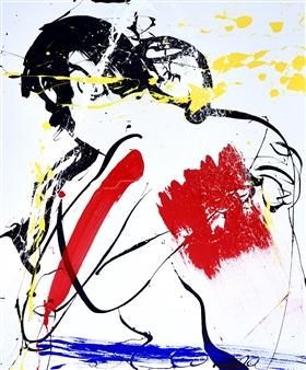 G Corona - Immunity Acrylic on Canvas, Paintings