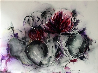 Dana Ingesson - Make a Little Magic Watercolor on Paper, Paintings