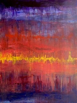 Jodi DeCrenza - Rhythm of My Heart Acrylic on Canvas, Paintings