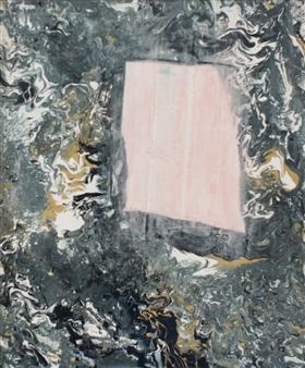Abigail Custis - Trust Your Gut Acrylic on Canvas, Paintings
