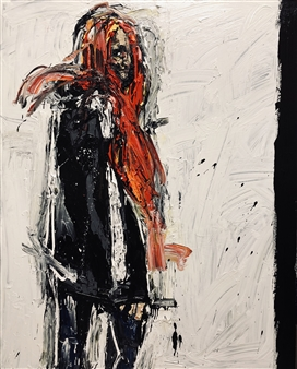 Nick Bautista - Metaphor, part 1 Acrylic on Canvas, Paintings
