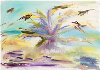 Christine Lückmann - Time to Dream Oil on Canvas, Paintings