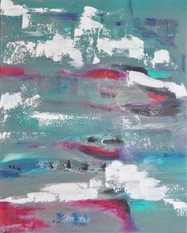 Barbara Wykrota - Touché Acrylic on Canvas, Paintings