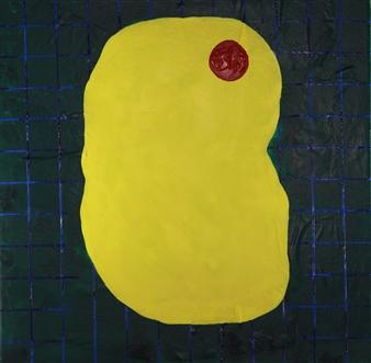 Joseph Masur - Embryonic Acrylic on Canvas, Paintings