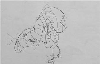 Marek Wasylewicz - VvA-O Pencil on Paper, Drawings