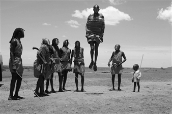 Faceless Kunst - African Tribe Digital C-Print, Photography