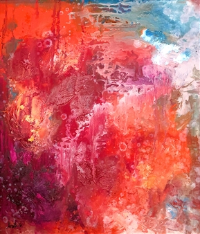 Jenny Blomquist - Dissipation Oil on Canvas, Paintings