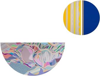 Ai-Wen Wu Kratz - Renewal / Part II Acrylic on Canvas, Paintings