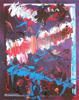 David Morrison - Turn Acrylic on Canvas, Paintings