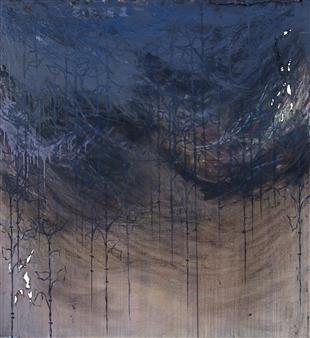 Vincent Donato - Pt. 1 Mixed Media on Canvas, Mixed Media