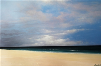 Michael Livolsi - Gulf Coast Acrylic on Canvas, Paintings