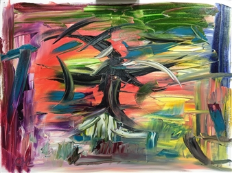 Christine Lückmann - House of the Goblin Oil on Canvas, Paintings