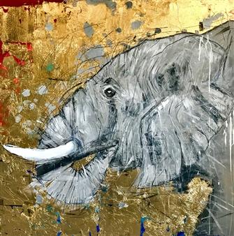 Grażyna Aneta Ochowiak - Life Acrylic & Mixed Media on Canvas, Mixed Media