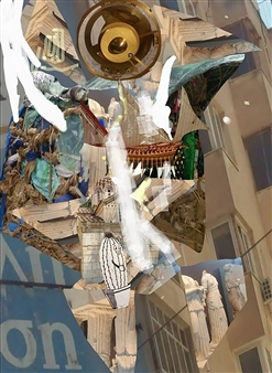 Andrew Knox - Antikythera Mechanism Digital Collage, Digital Art