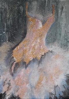 Chatarina Salomonsson - Wardrobe Dream Acrylic on Canvas, Paintings