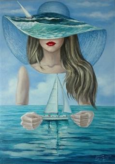 Helena Zyryanova - Dreams Oil on Canvas, Paintings