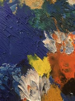 Maribel Matthews - Winter Oil on Canvas, Paintings