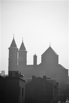 Paris Gray - Church Archival Pigment Print, Photography