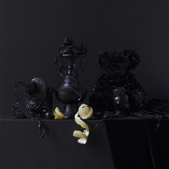 Art Golacki - Still Life in Black with Lemon And Teddy / second variation Archival Pigment Print, Photography