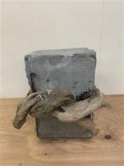 Akemi Fujita - Untitled Wood, Sculpture