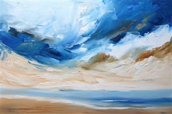 Rine Philbin - Untitled #31 Oil on Canvas, Paintings