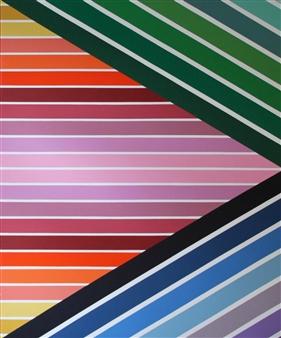 Jolie Dueñas - Parallax I Acrylic on Canvas, Paintings