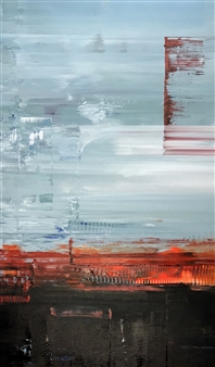 Gui Calil - Burning Acrylic on Canvas, Paintings