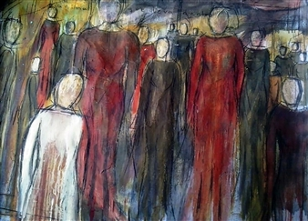 Luisa Vicente Isola - Somos Acrylic on Canvas, Paintings