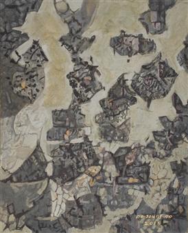 Soilart Jo-DoJoong - Knar 5 Soil on Canvas, Paintings