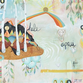 Jennifer Valenzuela - Hele Apau: Everything Goes Oil on Panel, Paintings